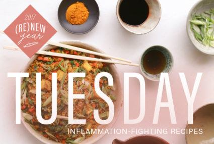This anti-inflammatory turmeric fried rice is a major upgrade from takeout