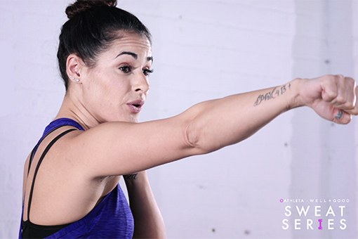 Work Out Your Body (and Mind) With This 5-Minute Boxing Reset From Ashley Guarrasi
