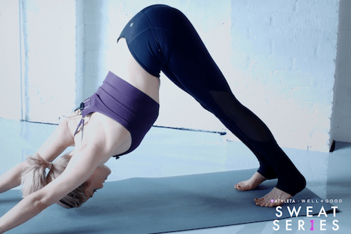Grab a mat for this 5-minute arm-sculpting yoga sequence with Heidi Kristoffer