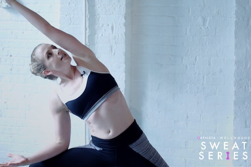 Work it out with this 6-minute super-charged power yoga with Bethany Lyons