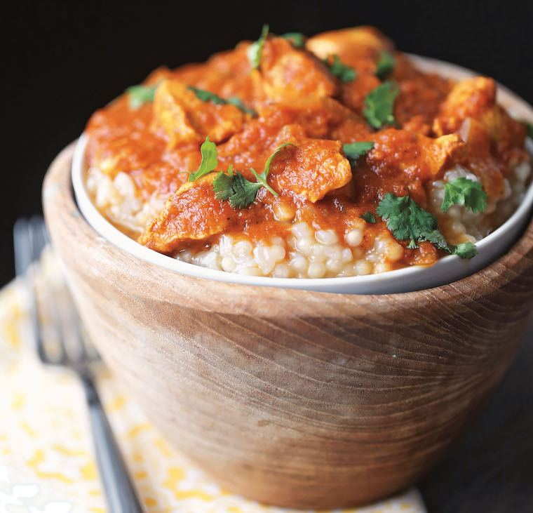 Paleo Chicken tikka masala slow cooker recipe