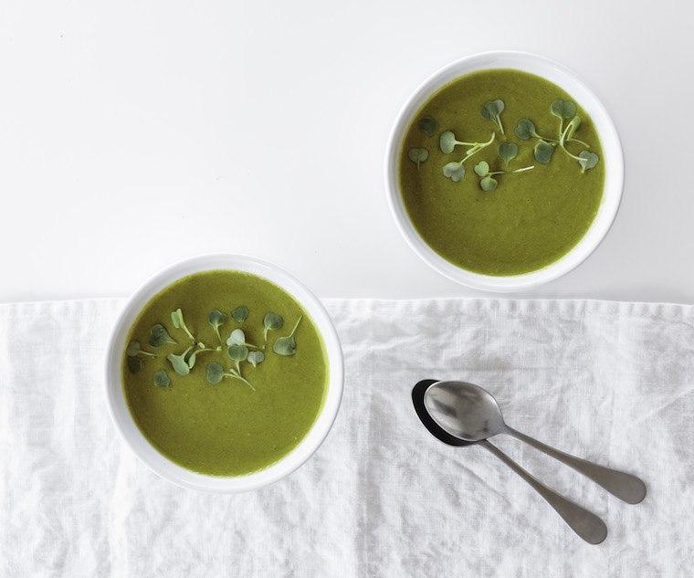 Thumbnail for The detoxing soup you can make in 20 minutes flat