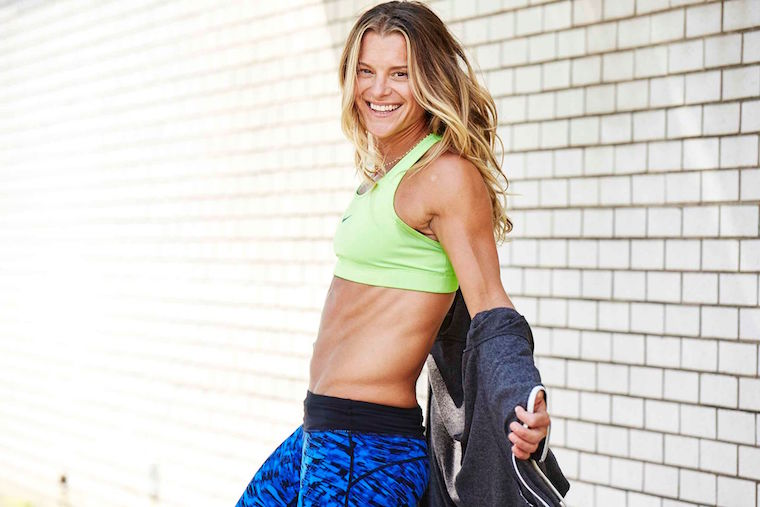 Trainer Holly Rilinger is headed to Cyc Fitness