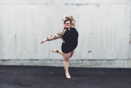 This viral video star proves there's no such thing as a ballerina body