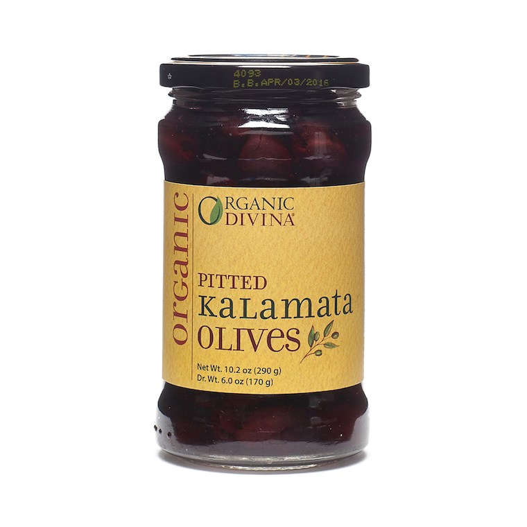 Organic Divina Biodynamic Whole Kalamata Olives