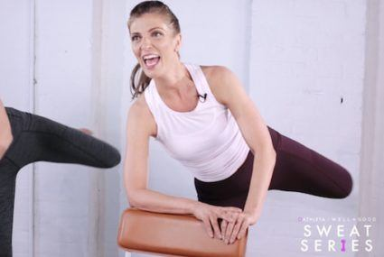 Ready to pulse? Try this 6-minute barre workout with Tanya Becker of Physique 57