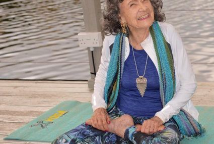 The one thing the world's oldest yogi does every a.m. to guarantee a great day