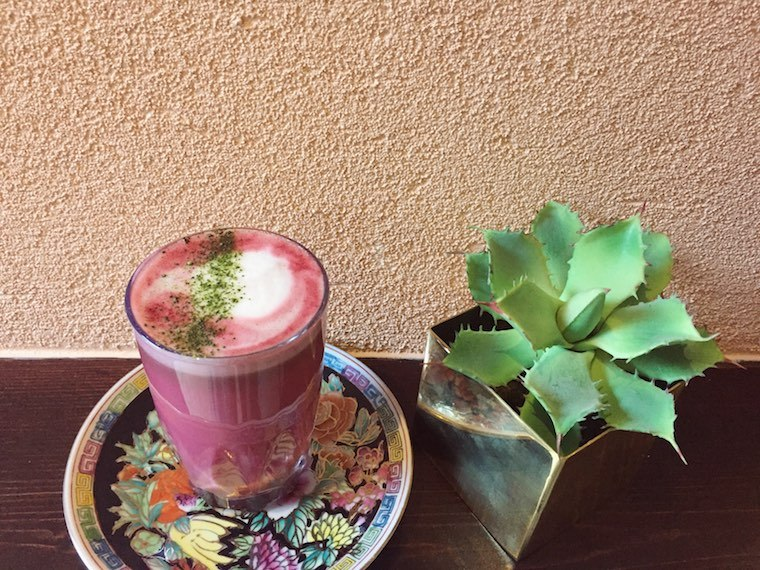 The Good Sort beet latte