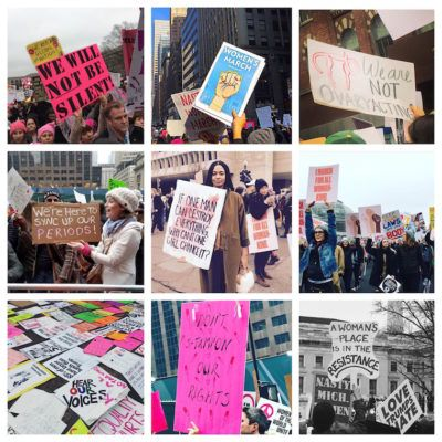 Why the Women's March was really a giant vision board
