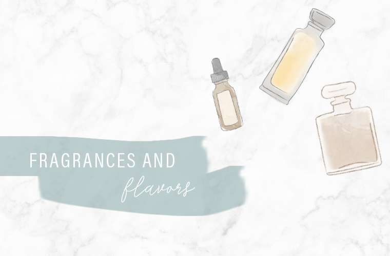 fragrances and flavors