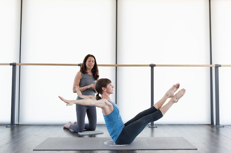 Thumbnail for Is this the hardest move in Pilates?