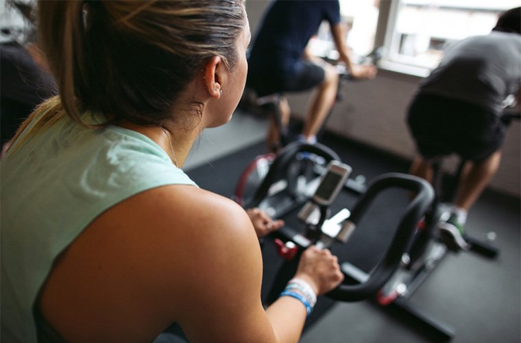 These are the muscles you use during a spin class | Well+Good