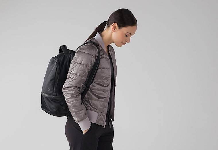 This Lululemon bomber jacket is two (seriously cool) pieces for the price of one