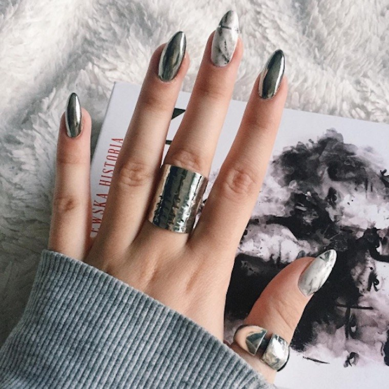 Thumbnail For This Major Nail Trend Takes Its Inspiration From Healthy Instagram