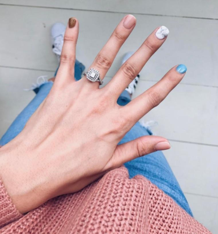 How to do marble nail art—plus image inspiration | Well+Good