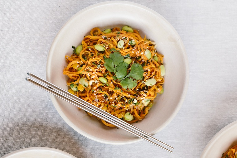 This (protein-packed) sweet potato pad Thai is a game-changer