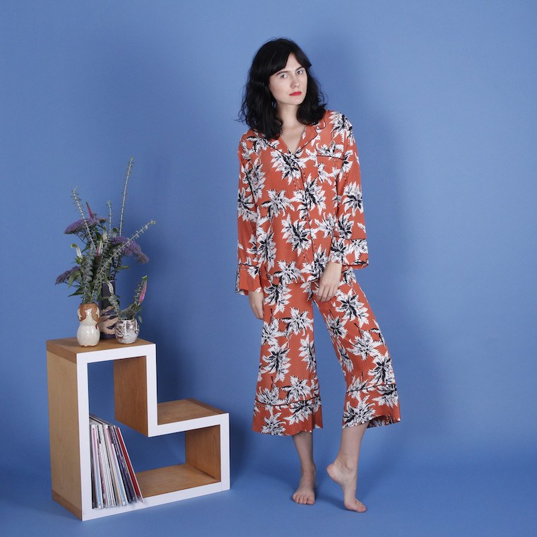 The Glad Hours x Tenoversix Pajama Set