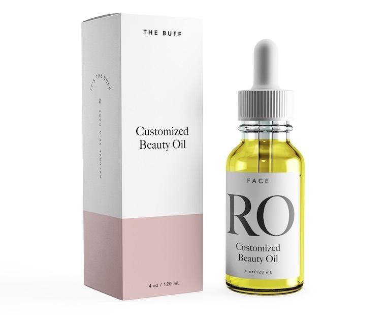 the buff facial oil
