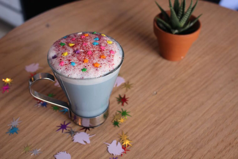 unicorn latte