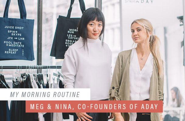 The genius way Aday's founders rev up their minds in the morning