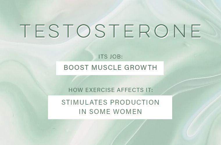 How exercise affects your hormones | Well+Good
