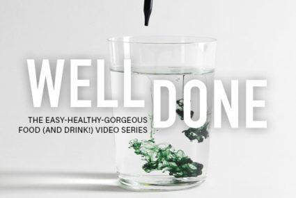 Juice cleanses wellgood this easy hack magically turns your water into a detoxifying green juice malvernweather Image collections