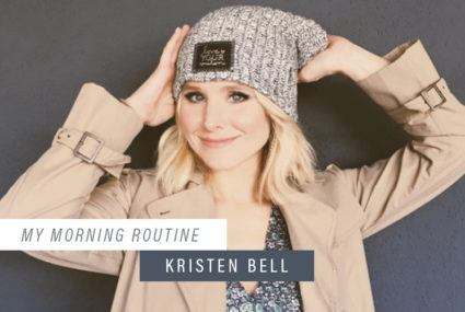 The one wellness beverage Kristen Bell relies on to kick-start her day