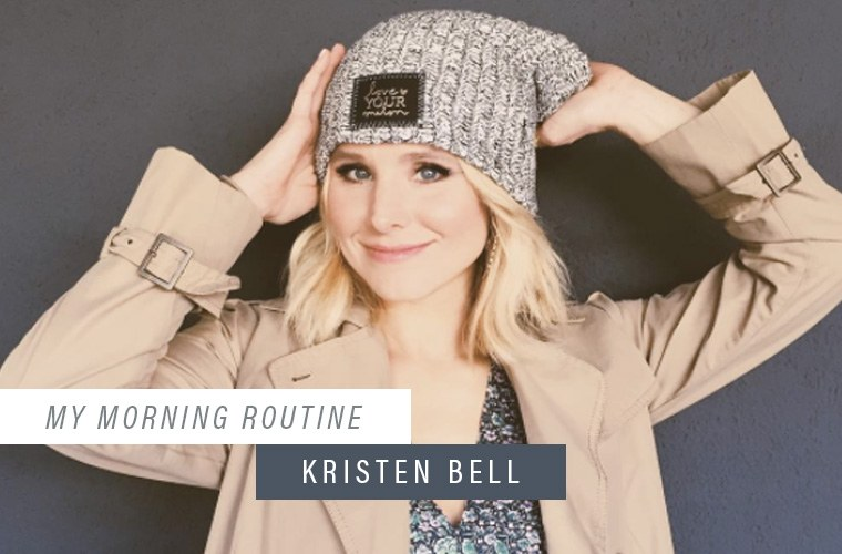 Thumbnail for The one wellness beverage Kristen Bell relies on to kick-start her day