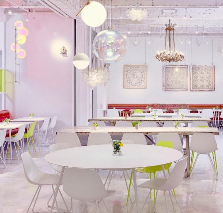 Thumbnail for Take a look inside abcV, Jean-Georges Vongerichten's super-chic veggie mecca