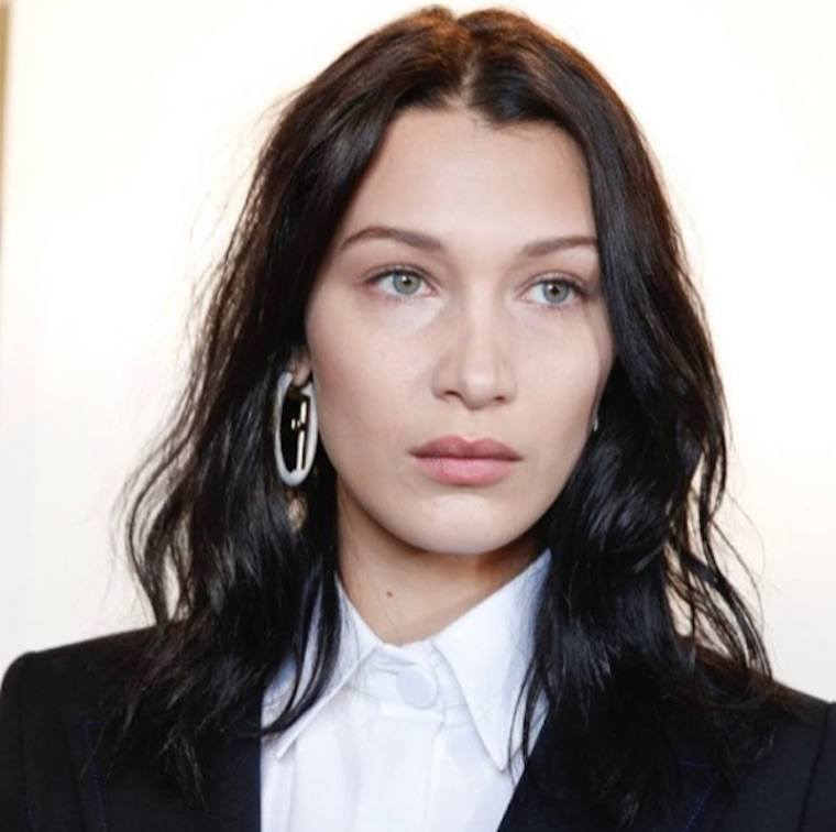 fendi bella hadid hairstyle