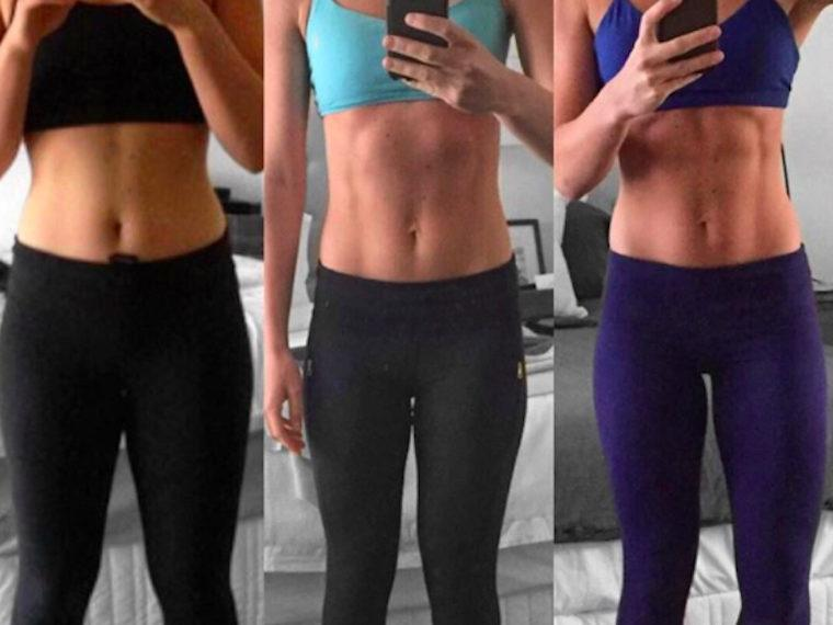 Kayla Itsines' biggest fans are breaking from the Instagram star's use of before-after...