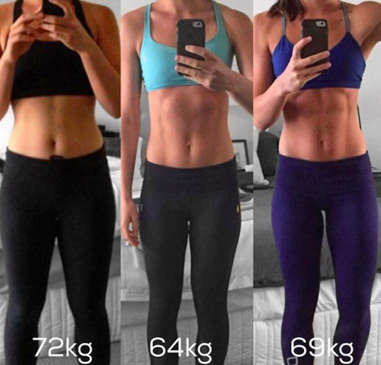 Thumbnail for Kayla Itsines' biggest fans are breaking from the Instagram star's use of before-after photos