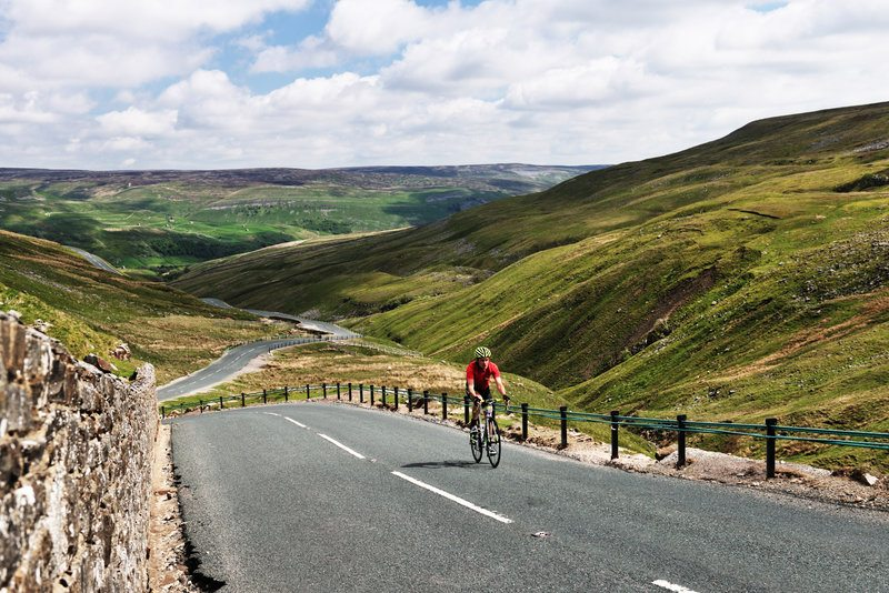 Cycling in Yorkshire, England
