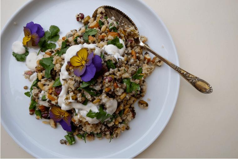 lentil-quinoa-salad-dinner