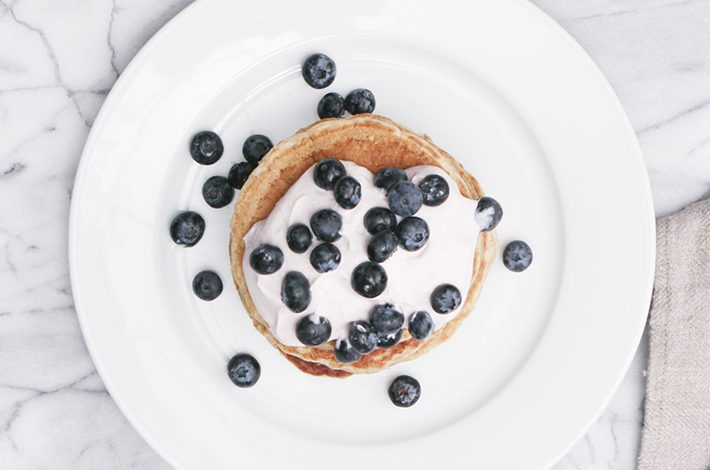 The low-sugar pancake recipe that's #brunchgoals