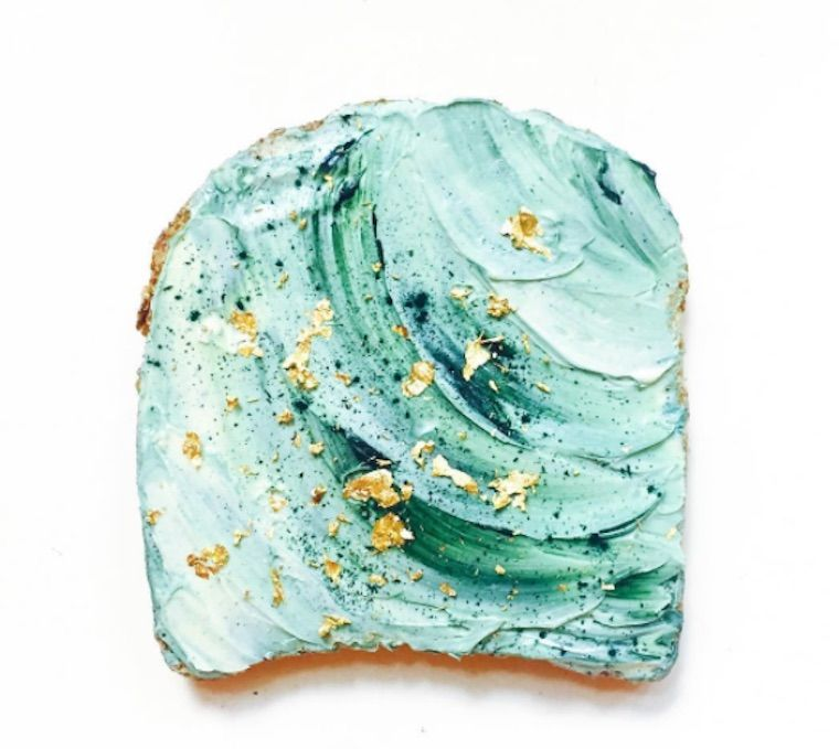 Thumbnail for Meet unicorn food's Instagram-friendly cousin: mermaid toast