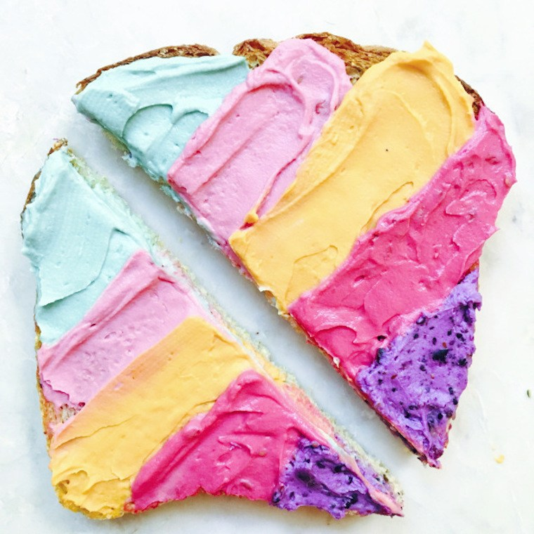 unicorn-toast-rainbow-healthy-recipe