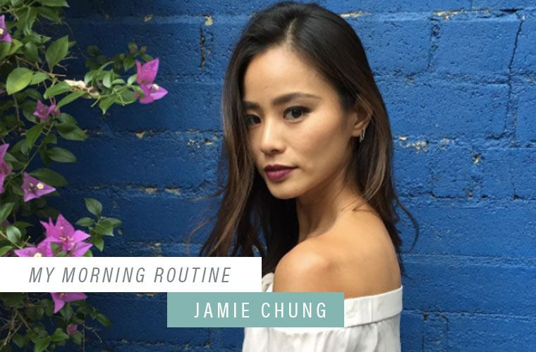 """Why Jamie Chung and her husband have a """"two week"""" rule"""