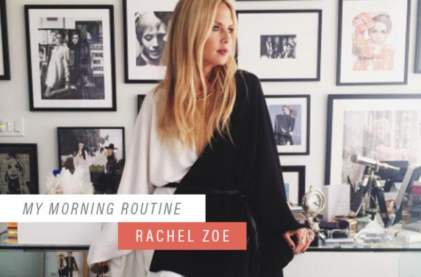 The hydration hack that helps Rachel Zoe power through non-stop mornings