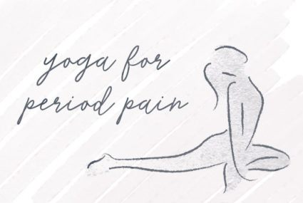 This easy vinyasa yoga flow will help ease your period pain