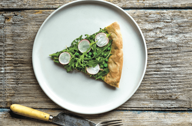 Thumbnail for This healthy (and delish) pizza recipe is basically salad gone wild