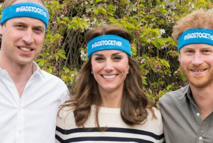 Kate Middleton, Prince William, and Prince Harry get real about grief and mental health