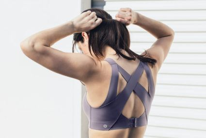 I tried Lululemon's new, groundbreakingsports bra—here's what you need to know
