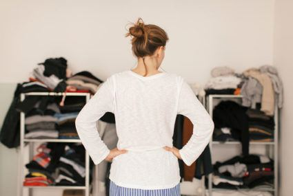 The ridiculously easy trick to organizing your leggings drawer