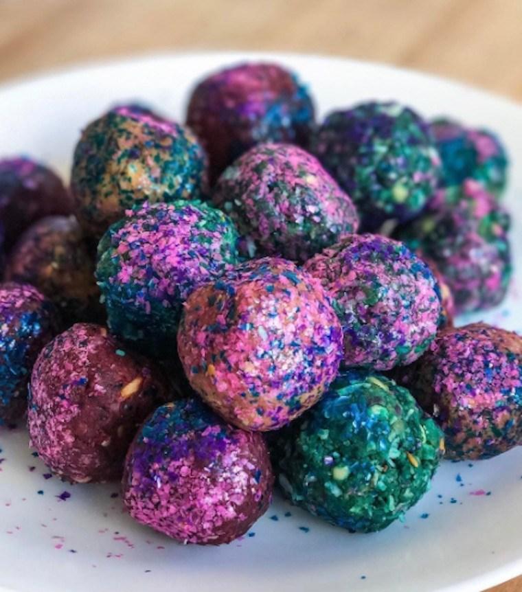 unicorn protein balls