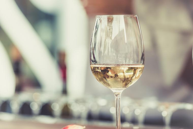 Thumbnail for Is white wine secretly messing with your skin?