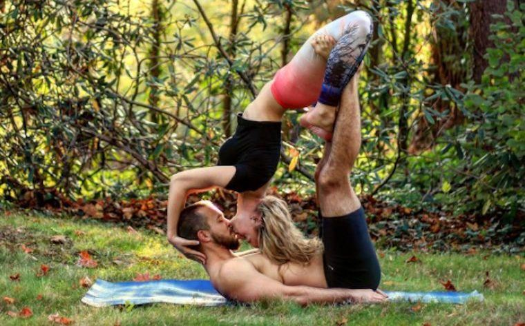 Thumbnail for This AcroYoga couple took their marriage proposal to new heights (literally)