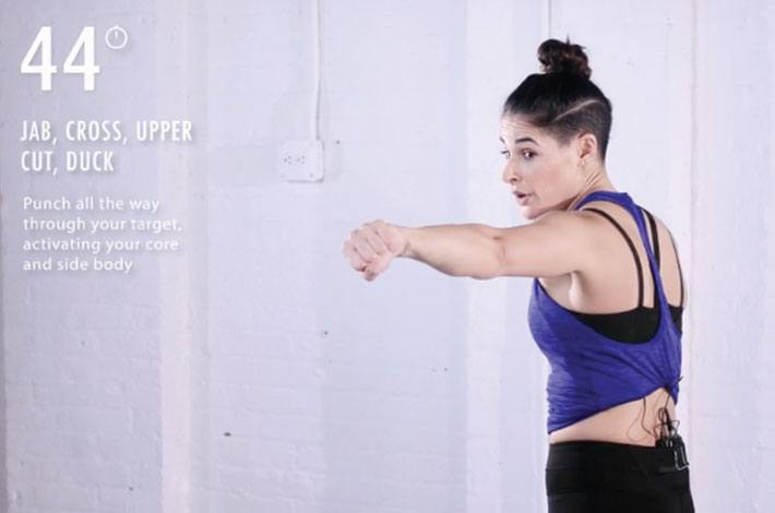 THIS 5-MINUTE BOXING RESET FROM ASHLEY GUARRASI WORKS OUT BODY AND MIND