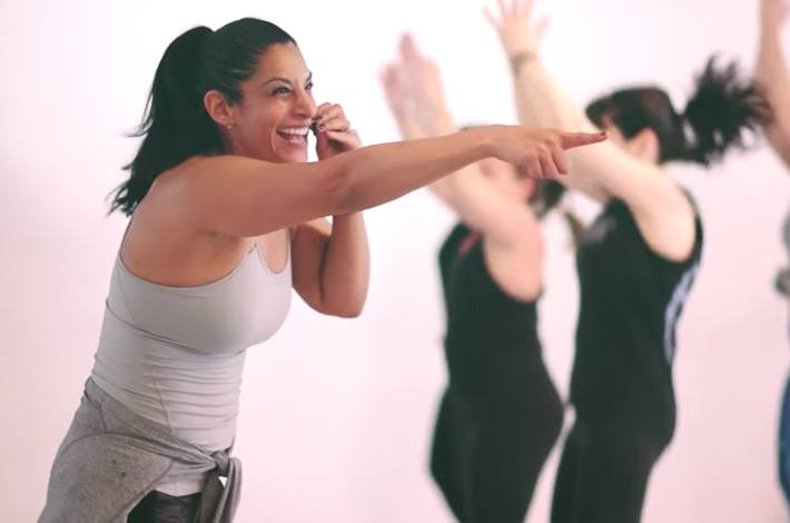 5-MINUTE MOOD-BOOSTER WORKOUT WITH PATRICIA MORENO OF INTENSATI