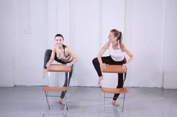 GET READY TO PULSE WITH PHYSIQUE 57'S TANYA BECKER'S 6-MINUTE BARRE WORKOUT